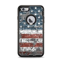 The Vintage USA Flag Apple iPhone 6 Plus Otterbox Defender Case Skin Set