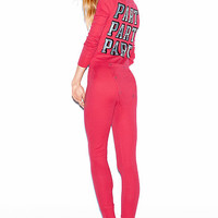 Thermal Long Jane - PINK - Victoria's Secret