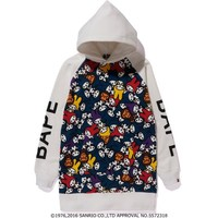 MY MELODY PULLOVER HOODIE ONEPIECE LADIES
