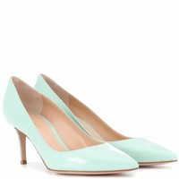 Exclusive to mytheresa.com – Gianvito 70 leather pumps