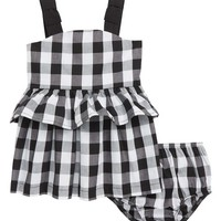 kate spade new york gingham sundress (Baby Girls) | Nordstrom