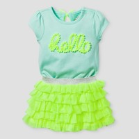 Baby Girls' Bodysuit and Ruffle Tutu Set Cat & Jack™ - Yellow : Target