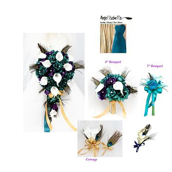 Build your wedding package-Peacock Theme