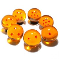 GET SPECIAL EDITION Bigger Size Acrylic Dragon Star Replica Ball Complete 7Pc Set on HAMEE!