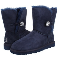 UGG Bailey Button Bling Navy - Zappos.com Free Shipping BOTH Ways
