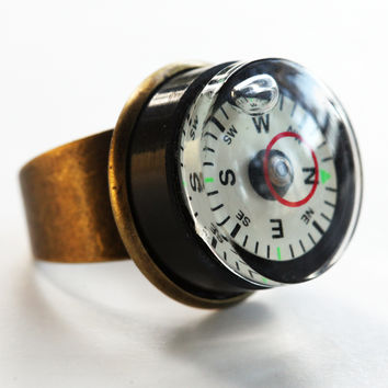 Compass-level ring