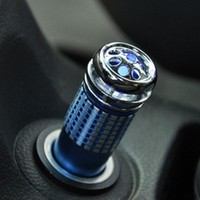 Auto Car Air Freshener Fresh Air Purifier Oxygen Bar Ionizer