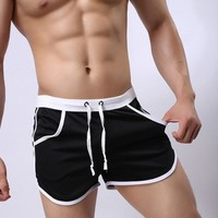 Mens Running Jogging Sports Shorts Summer Men's Marathon Running Shorts Training Crossfit Fitness Run Sports Shorts 2XL
