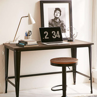 Pia Wooden Desk - Urban Outfitters