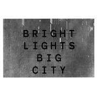 "Alison Coxon ""Bright Lights"" Dark City Decorative Door Mat"