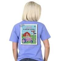 "Simply Southern ""Preppy Farm"" Short Sleeve Tee"