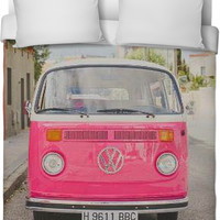 Hippie Bus Bed Sheets