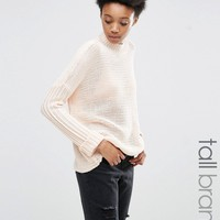Noisy May Tall Cable Knit Jumper