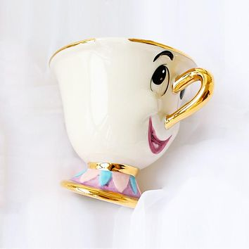 Beauty and the Beast Mrs Potts' son : Chip Cup Tea Set Coffee Cartoon Mug