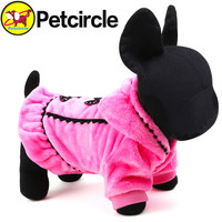 2015 Graceful Pet Dog Clothes Winter Size Xxs-l Small And Large Dog Clothing Plushdog Coats For Chihuahua