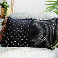 FP One Womens Stitch and Sequin Pillow