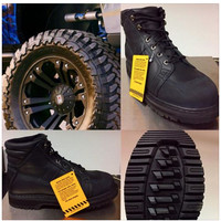 CHINOOK CONTRACTOR OIL RESISTANT LUG TRACTION SOLE BOOTS