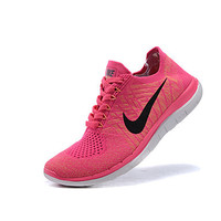 Nike Free 4.0 Flyknit Best Seller Women's Running Shoes Athletic Shoes Fashion Sneakers Lace-up Gray / Royal Blue / Purple/Pink