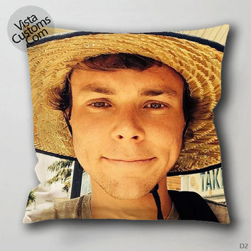 Ashton Irwin 5 seconds of summer Photo Pillow Case, Chusion Cover ( 1 or 2 Side Print With Size 16, 18, 20, 26, 30, 36 inch )