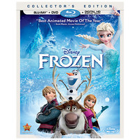 Frozen Blu-ray Collector's Edition with FREE Lithograph Set Offer - Pre-Order