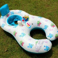 Swimming Pool beach Children Swimming Ring baby piscine Inflatable Circle Kids  Accessories Circle Swim Pool FloatsSwimming Pool beach KO_14_1