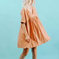 Owen Dress (Ginger) Ships 5/31