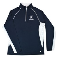 YALE BULLDOGS LACROSSE 1/4 ZIP - ADULT