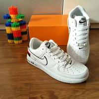 Nike Air Force 1 Unisex Sport Casual Multicolor National Flag Low Help Shoes Sneakers Couple Plate Shoes