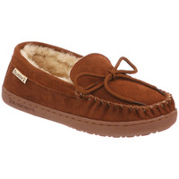 Moc Slipper for Women by BEARPAW review color Hickory