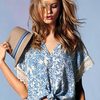 Tie-front Blouse - Victoria's Secret
