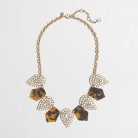 Factory tortoise and crystal necklace : Jewelry | J.Crew Factory