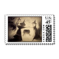 Vintage Halloween stamps from Zazzle.com