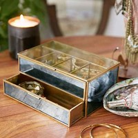 Magical Thinking Distressed Mirror Jewelry Box