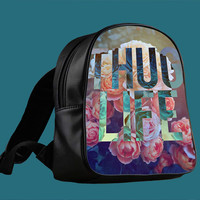 Rose Thug Life for Backpack / Custom Bag / School Bag / Children Bag / Custom School Bag *
