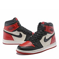 Air Jordan 1  Fashion Casual Sneakers Sport Shoes