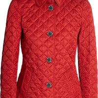 Burberry Brit - Quilted matte shell jacket
