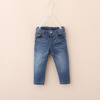 Hot Sale spring autumn Z brand baby clothing baby boys girls jeans kids casual pants 100% cotton 9-36 Month bebe