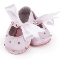 Twinkle Toes Slippers with Crystals on Tops