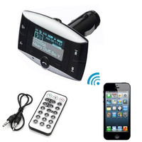 New Car Kit FM Audio Transmitter Bluetooth Modulator MP3 Player USB Charger SD Slot AP = 1651432068