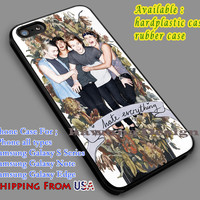 5SOS Hate Everything iPhone 6s 6 6s+ 5c 5s Cases Samsung Galaxy s5 s6 Edge+ NOTE 5 4 3 #music #5sos dl7