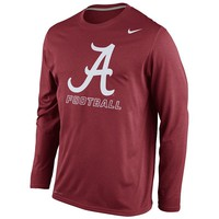 Nike Alabama Crimson Tide Legend Practice Dri-FIT Performance Tee