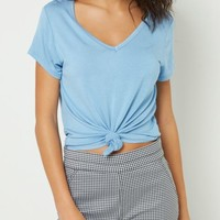 Blue Favorite Relaxed Fit Tee
