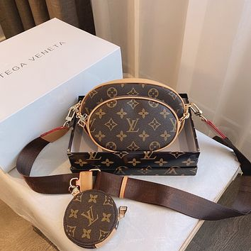 LV Louis Vuitton Women's Tote Bag Handbag Shopping Leather Tote Crossbody Satchel104