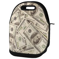 Cash Money Lunch Tote Bag