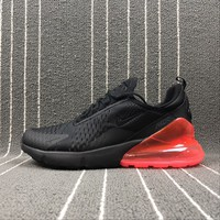 Best Online Sale Nike Air Max 270 Black Red Sport Running Shoes AH8050-006