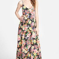 Women's Lucca Couture Strappy Floral Maxi Dress