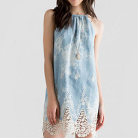 Palmdale Embroidered Dress