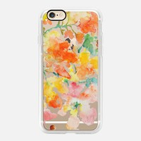 Floral Shower Petals-Clear iPhone 7 Case by Pineapple Bay Studio | Casetify (iPhone 6s 6 Plus SE 5s 5c & more)