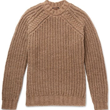 Tod's - Alpaca, Silk and Merino Wool-Blend Sweater