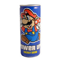Mario Power Up Energy Drink (Discontinued)